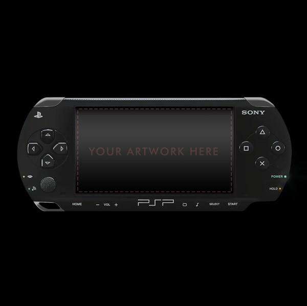 PSP Mockup FREE - PlayStation portable PSD Mockup