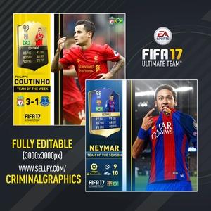 FIFA 17 PLAYER EDIT TEMPLATE