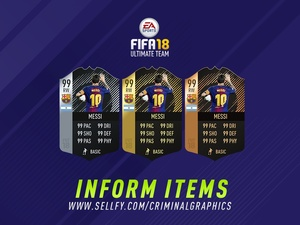 FIFA 18 INFORM ITEMS