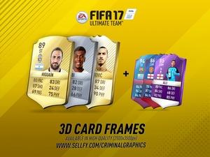 FIFA 17 3D CARD FRAMES