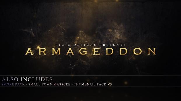 Armageddon - Big E Official Graphics Pack #2