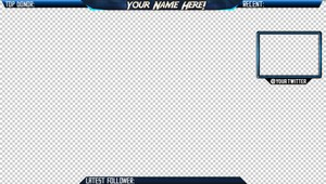 TWITCH/YOUTUBE OVERLAY | Full Customization