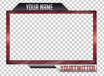 Twitch/Youtube WEBCAM Overlay | Full Customization