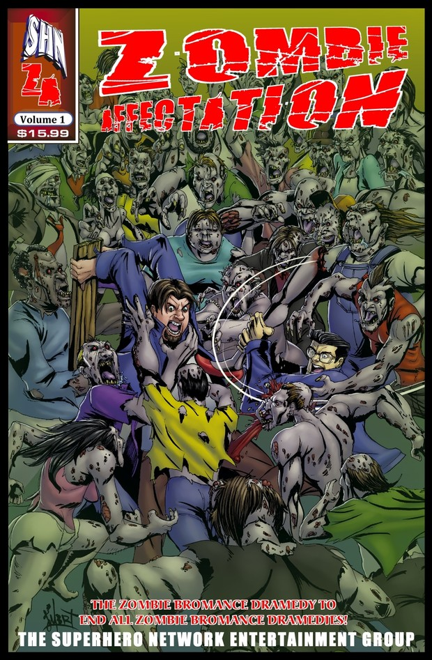 Zombie Affectation Trade Paperback Volume One