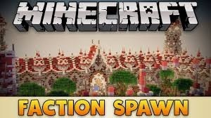 Minecraft Factions Spawn + WarZone + Koth
