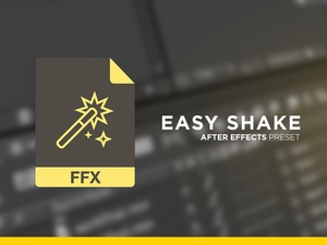 Easy Shake for After Effects [CS6+]