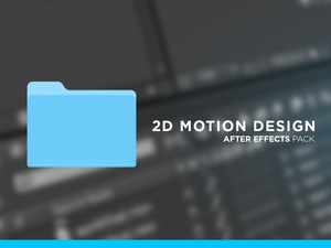 2D Motion Design Pack for After Effects