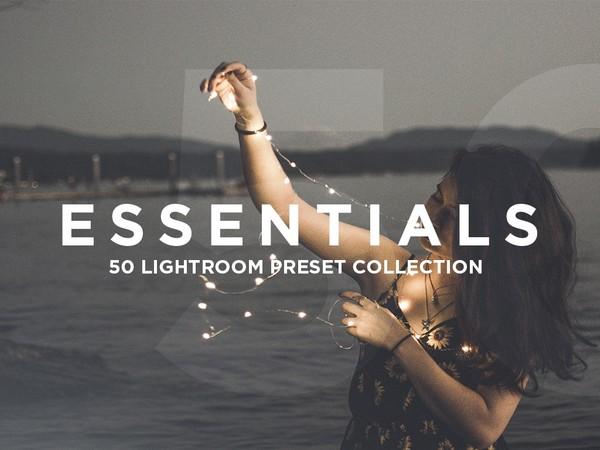 50 ESSENTIAL PRESETS FOR ADOBE LIGHTROOM