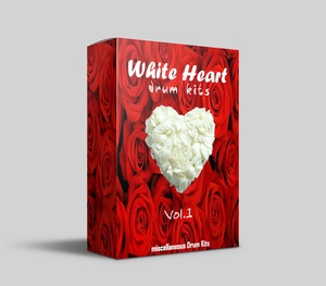 White Heart  Drum Kits Vol.1
