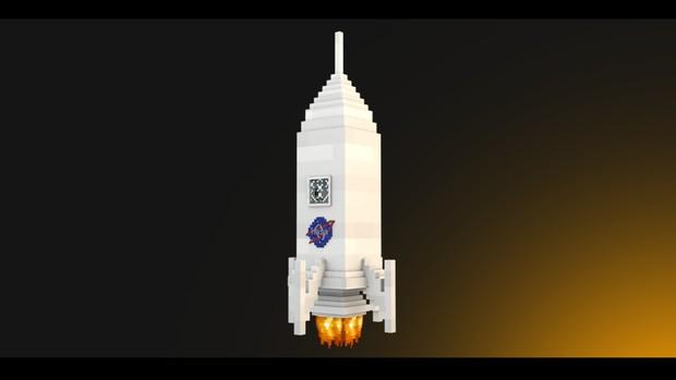 Minecraft Rig Rocket Cinema 4d Skadfx