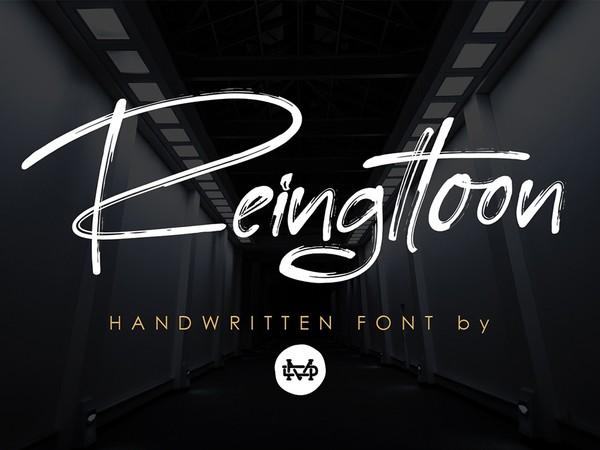 Reingttoon Handwritten Brush