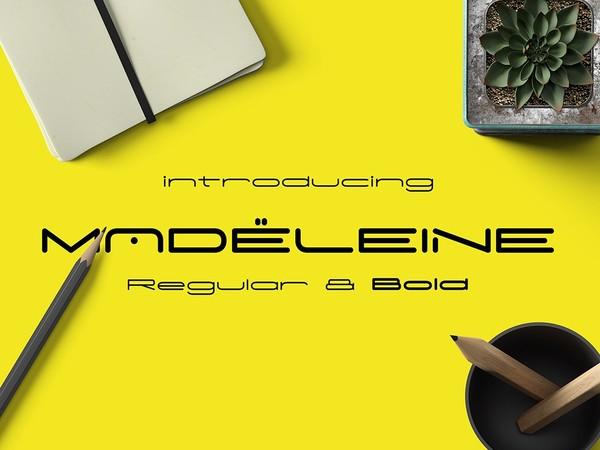Madeleine Typeface