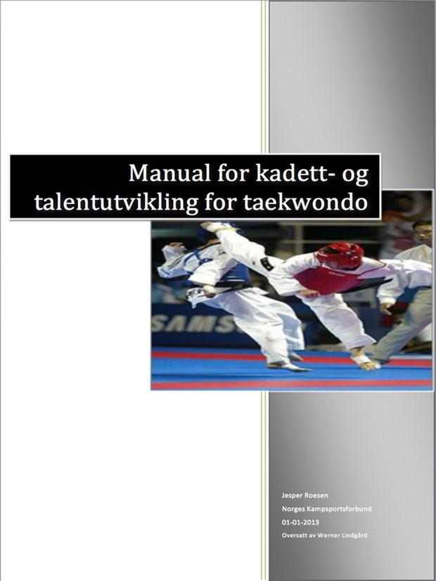 Taekwondo Kadett Utviklingstrapp