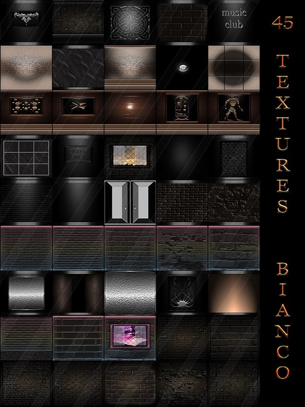 45 TEXTURES BIANCO FOR IMVU ROOMS