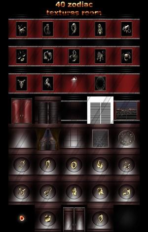 40 zodiac textures room imvu