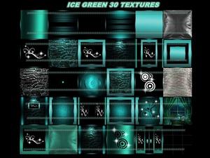 Ice green 30 textures
