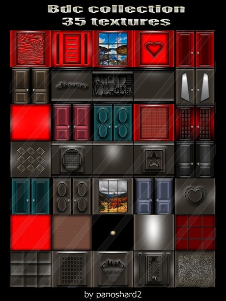 Bdc collection 35 textures for imvu creator rooms  ( will be sold to ten creator)