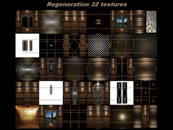 Regeneration 32 textures FOR IMVU CREATOR ROOMS