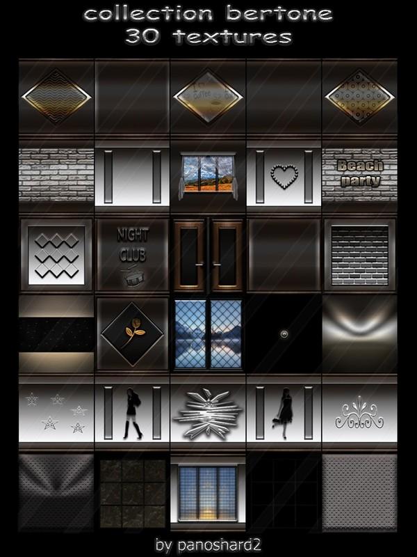 Collection bertone 30 textures for imvu creator rooms (will be sold to ten creators)