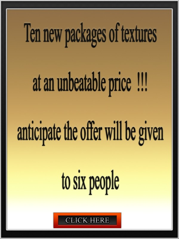Ten new packages of textures at an unbeatable price