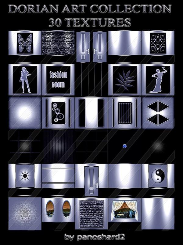 DORIAN ART COLLECTION 30 TEXTURES