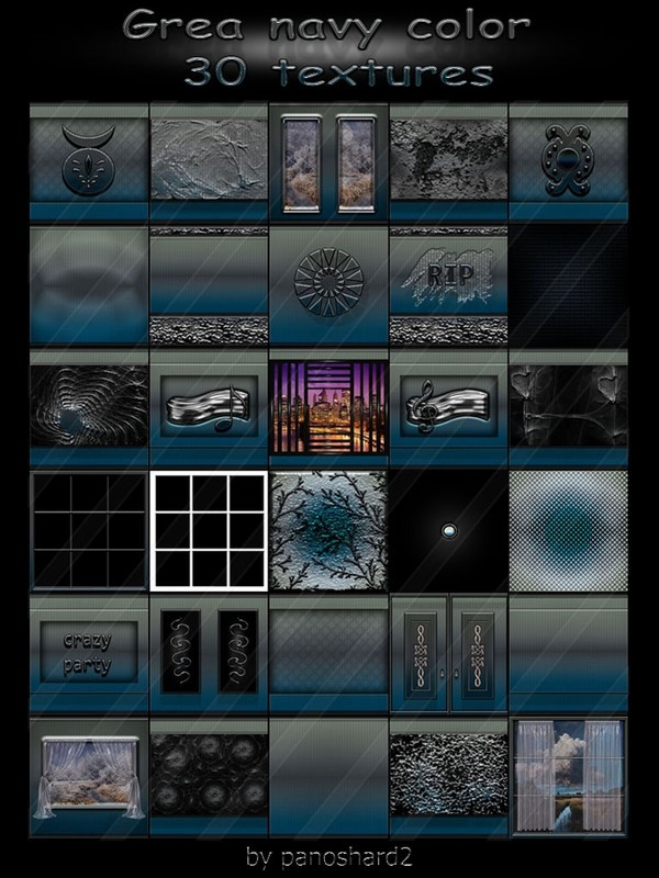 Grea navy color  30 textures for imvu rooms (will be sold to 10 creators)