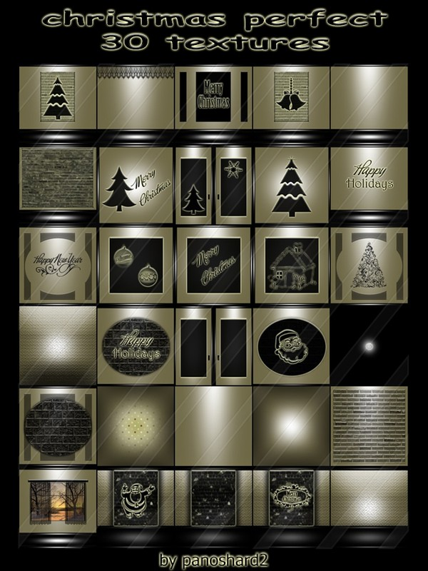 christmas perfect 30 textures for imvu creator rooms  ( will be sold to ten creator)