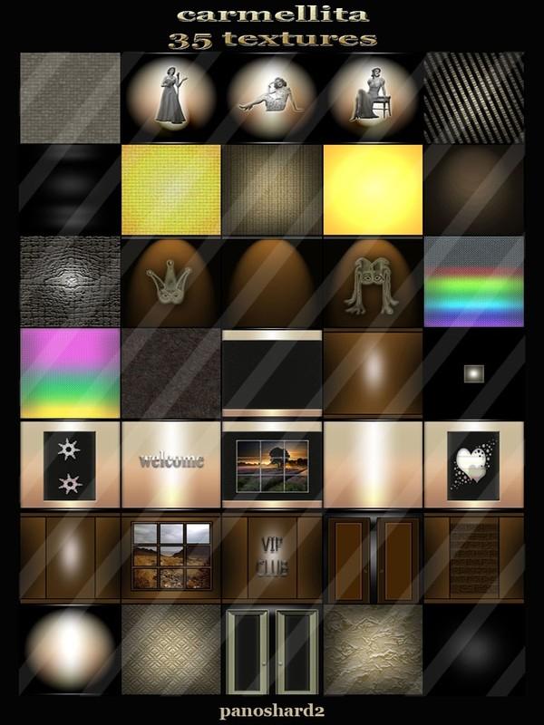carmellita collection 35 textures for imvu rooms
