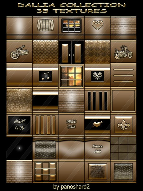 DALLIA COLLECTION 35 TEXTURES FOR IMVU CREATOR ROOMS (will be sold to ten creators)