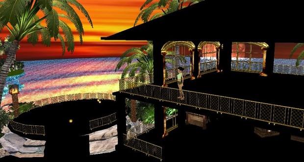 Bars and slides exteriors 30 textures imvu