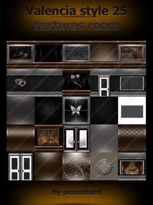 Valencia style 25 textures room