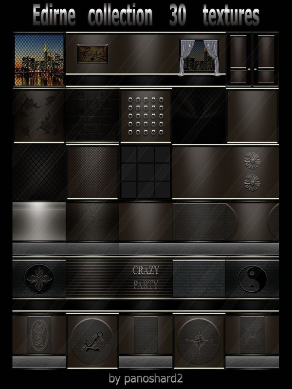 Edirne collection 30 textures for imvu rooms