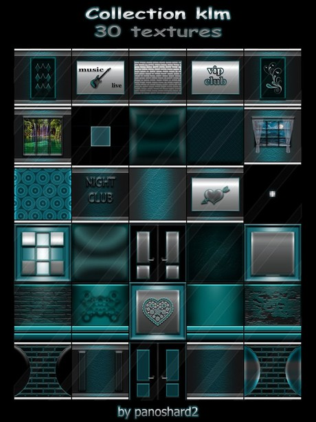 Collection klm 30 textures for imvu creator rooms (will be sold to ten creators)