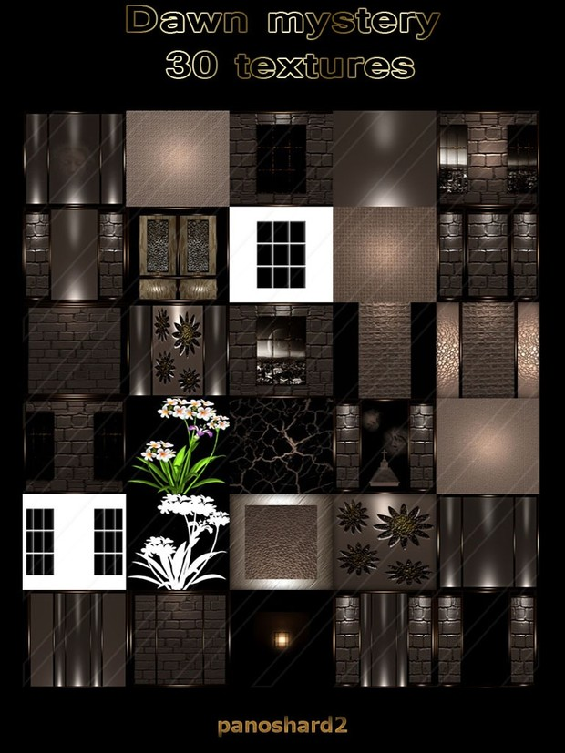 Dawn mystery 30 textures for imvu