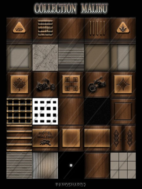 COLLECTION MALIBU 30 TEXTURES FOR IMVU CREATOR ROOMS  (will be sold to ten creators)