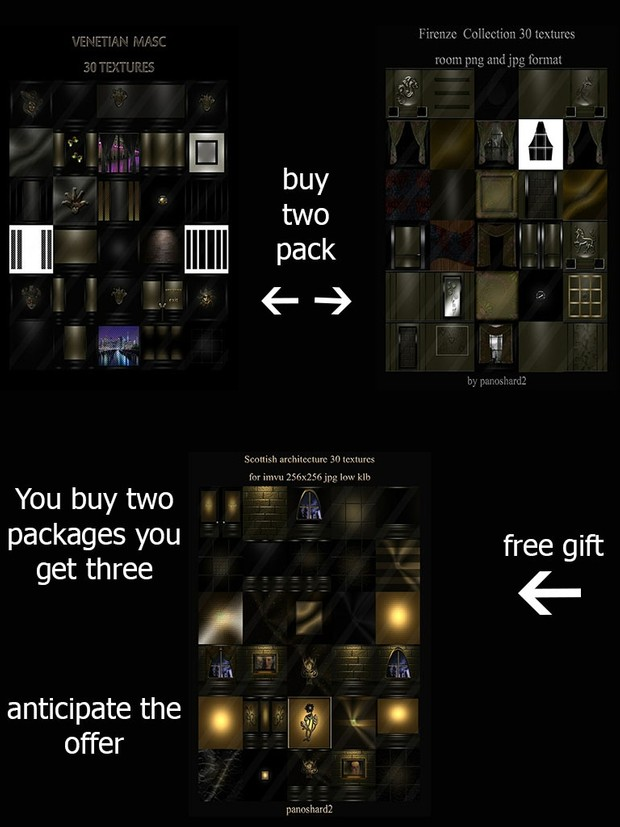 You buy two packages you get three anticipate the offer