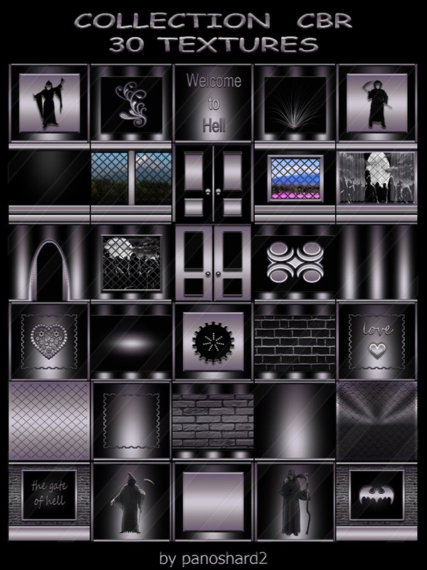 COLLECTION  CBR  30 TEXTURES FOR IMVU CREATOR ROOMS (will be sold to ten creators)