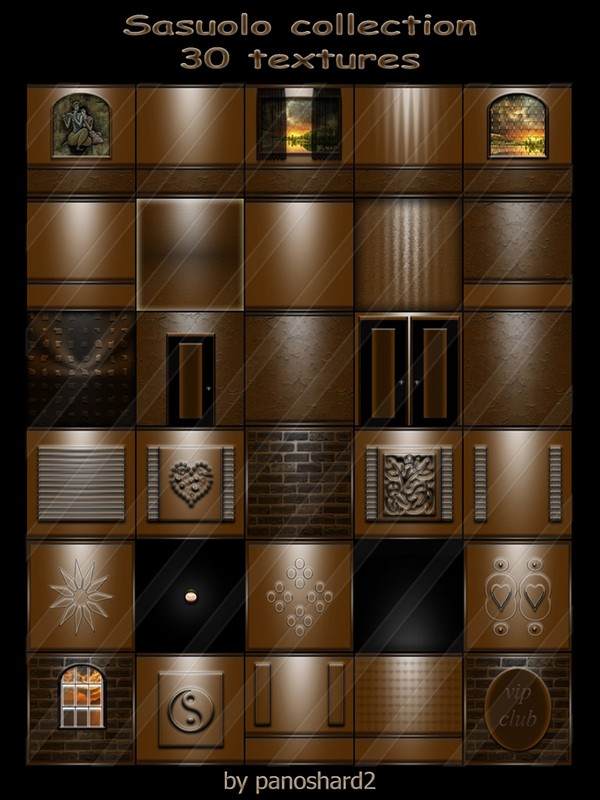 Sasuolo collection  30 textures for imvu creator rooms ( will be sold to ten creator)