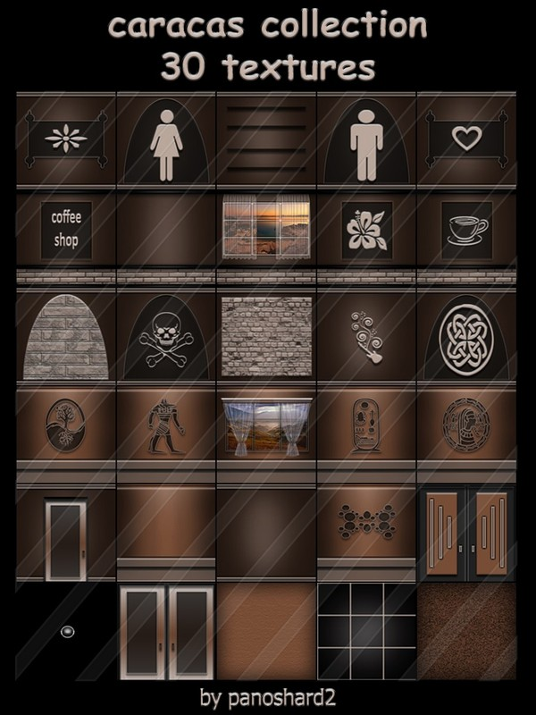caracas collection 30 textures for imvu rooms