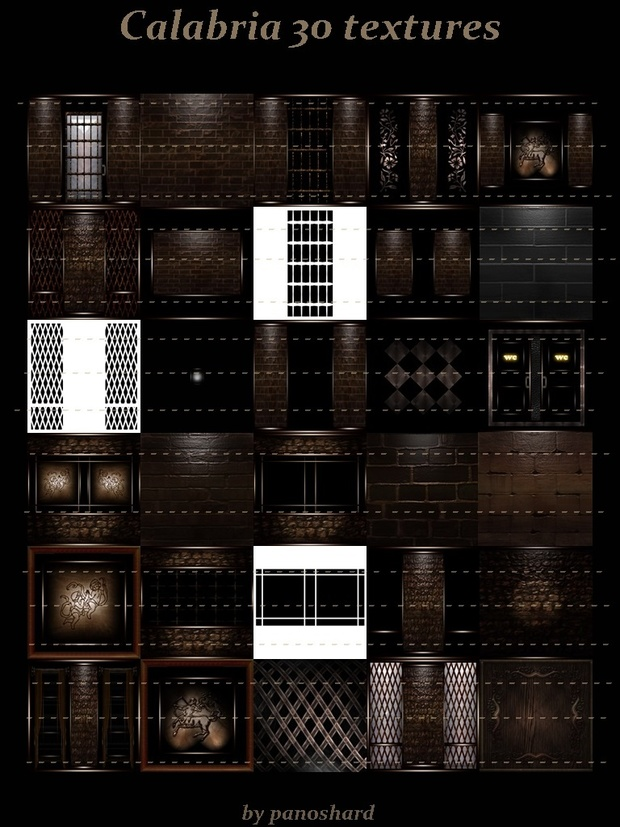 Calabria 30 textures and gift pack 16 doors sr