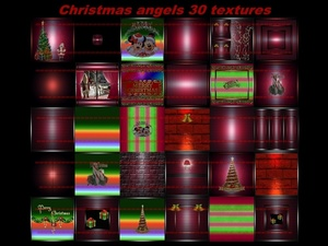 christmas angels 30 textures