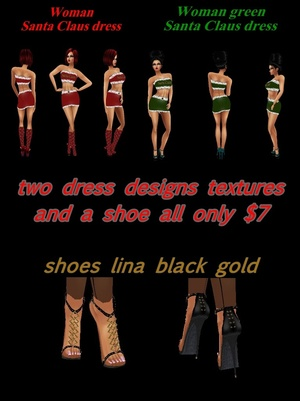 Offer two projects dress textures and a shoes all only $7