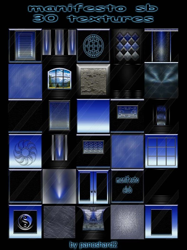Manifesto sb 30 textures for imvu rooms (will be sold to ten creators)