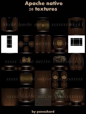 Apache native 20 textures imvu room