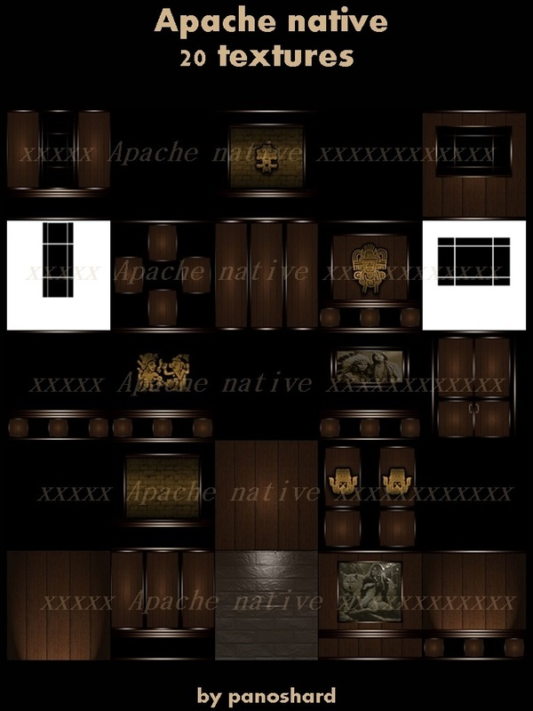 Apache native 20 textures imvu room