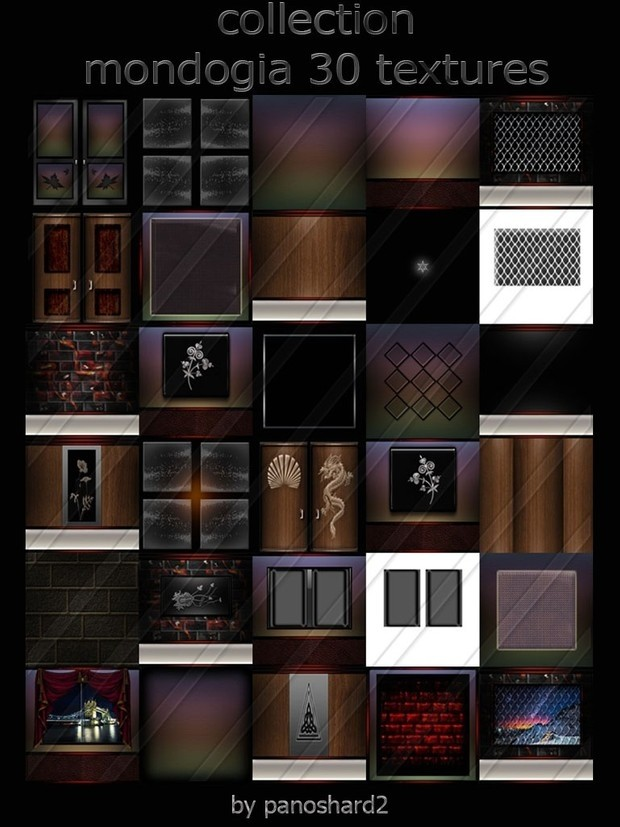 The offer of the day with only $20.00 four packages textures imvu (applies only to today)