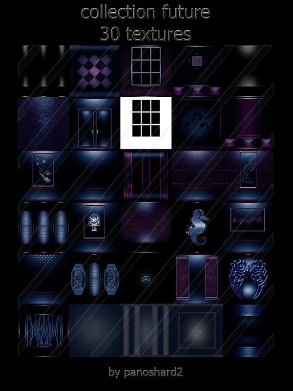 collection future 30 textures imvu room