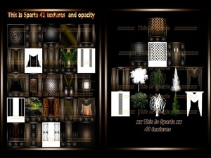 This Is Sparta 41 textures imvu room