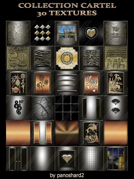 COLLECTION CARTEL 30 TEXTURES  FOR IMVU ROOM CONSTRUCTION ( will be sold to ten creator)