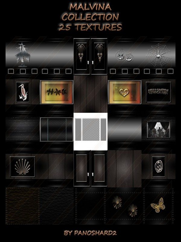 MALVINA COLLECTION 25 TEXTURES ROOM FOR IMVU